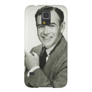 Businessman Pointing Galaxy S5 Cover