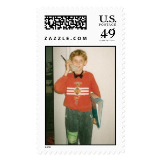 businessman postage stamps