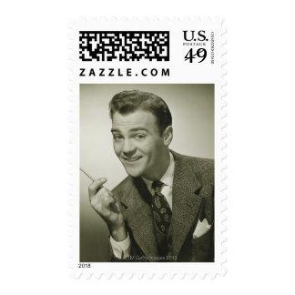 Businessman Postage Stamps