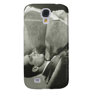 Businessman Reading the Newspaper Samsung S4 Case