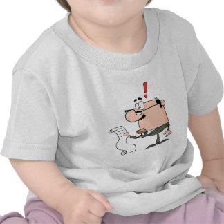 Businessman Reviewing Big Bill T-shirt