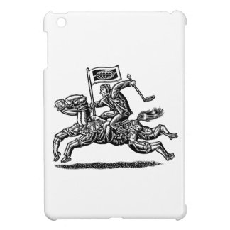 Businessman Rides Horse of Workers iPad Mini Covers