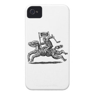 Businessman Rides Horse of Workers iPhone 4 Case-Mate Case