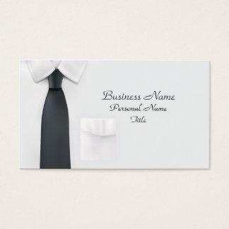 Businessman Shirt Profile Card