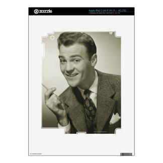 Businessman iPad 3 Decals