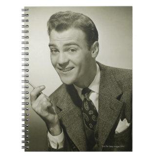 Businessman Spiral Notebook