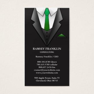 Businessman Suit Business Card