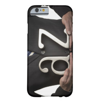 Businessman with A to Z letters Barely There iPhone 6 Case
