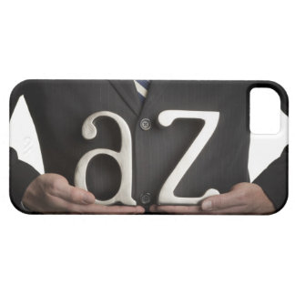 Businessman with A to Z letters iPhone SE/5/5s Case
