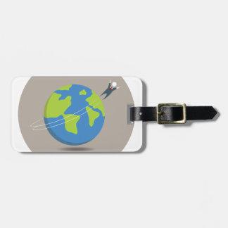Businessman World Traveller Bag Tag