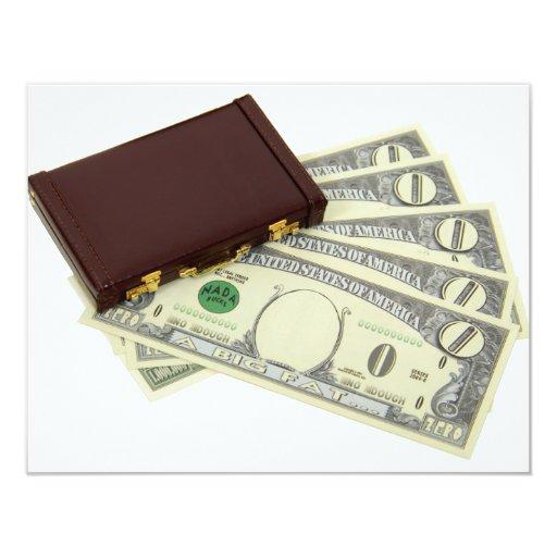 BusinessProfitsA053009 4.25x5.5 Paper Invitation Card