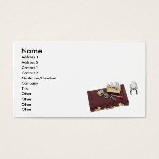 BusinessResearch, Name, Address 1, Address 2, C... Business Card