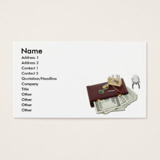 BusinessResearchFunds, Name, Address 1, Address... Business Card