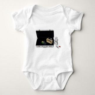 BusinessResearchSilver Baby Bodysuit