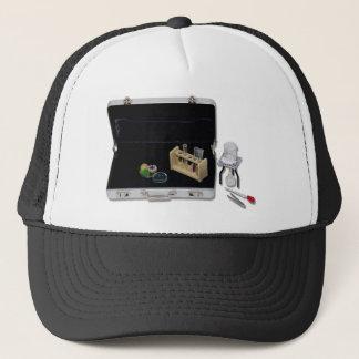 BusinessResearchSilver Trucker Hat