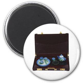 BusinessTea041209 2 Inch Round Magnet