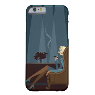 Businesswoman Smoking Cigar Barely There iPhone 6 Case