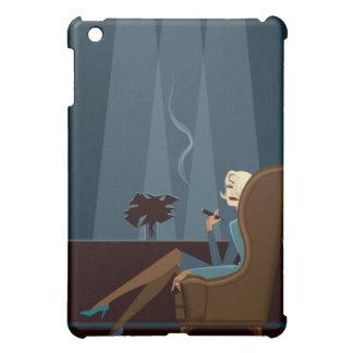 Businesswoman Smoking Cigar Case For The iPad Mini