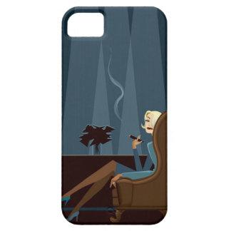 Businesswoman Smoking Cigar iPhone SE/5/5s Case