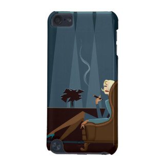 Businesswoman Smoking Cigar iPod Touch (5th Generation) Cover