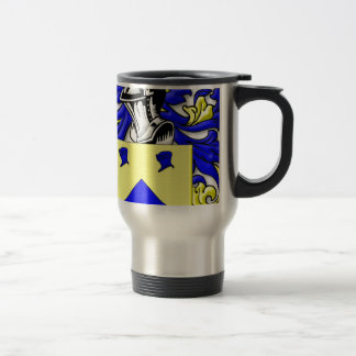 busken Coat of Arms 15 Oz Stainless Steel Travel Mug