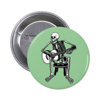 Busker Bones Button