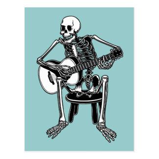 Busker Bones Postcard