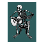 Busker Bones Print