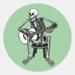 Busker Bones Stickers