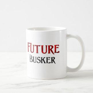 Busker futuro taza