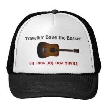 Busker Musicians Guitar Tip Jar Hat by DigitalDreambuilder at Zazzle