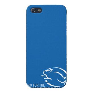 Busque el conejito del salto iPhone 5 carcasa