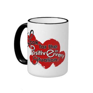 Busque el positivo tazas de café