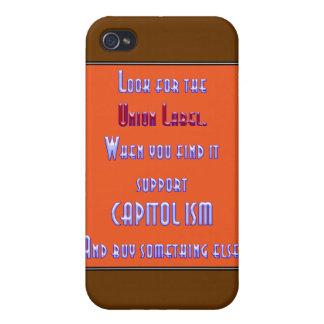 Busque la etiqueta de unión iPhone 4 carcasas