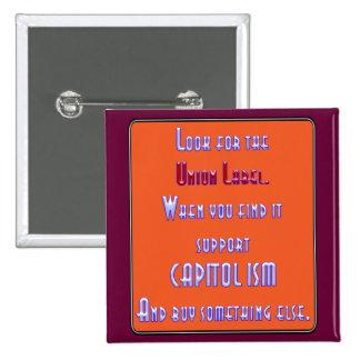 Busque la etiqueta de unión pins