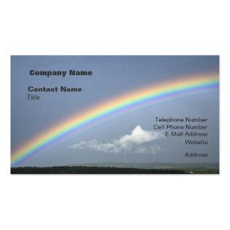 Busque las tarjetas de visita del arco iris