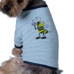 Búsqueda de la abeja camiseta de perrito