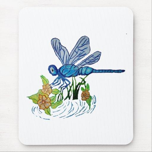 Búsqueda de la libélula tapetes de ratones