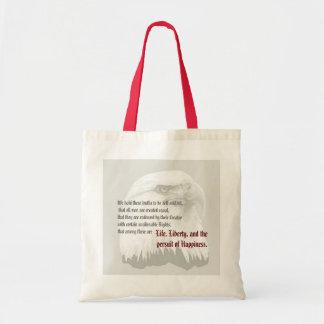 Búsqueda de la libertad de la vida bolsa tela barata