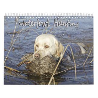 Búsqueda de las aves acuáticas calendarios
