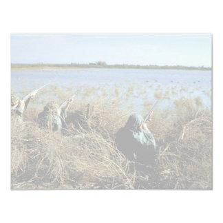 Búsqueda de las aves acuáticas invitación 10,8 x 13,9 cm