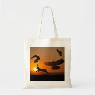 Búsqueda de los halcones de Harris Bolsas De Mano