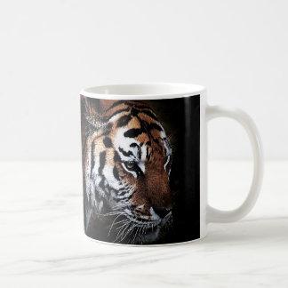 Búsqueda de los tigres taza de café