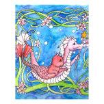 Búsqueda del dragón del mar plantilla de membrete