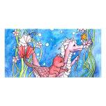 Búsqueda del dragón del mar tarjetas fotograficas