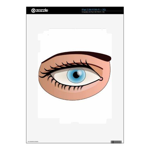 Búsqueda del ojo para el amor calcomanía para iPad 2