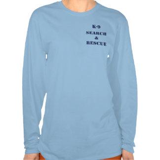 Búsqueda K9 y rescate v2 Camiseta