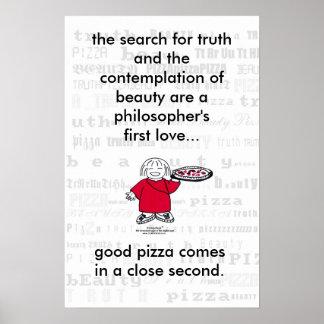 ¡BÚSQUEDA PARA LA VERDAD Y LA PIZZA! Poster