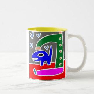 Búsqueda Taza De Café De Dos Colores