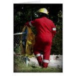 Búsqueda y héroe del rescate felicitaciones